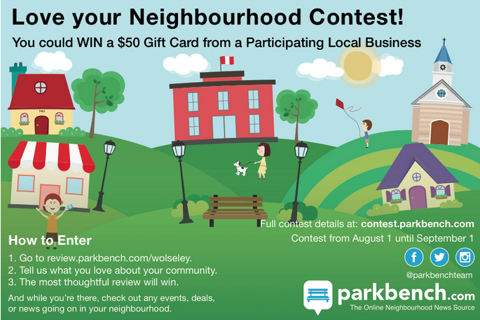 Love your Neighbourhood Contest: the Wolseley and West End, Winnipeg Edition