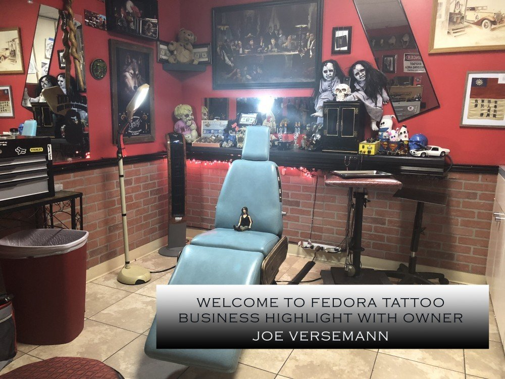 Ex con hustles to operate greeley 39 s largest tattoo studio for Tattoo shops in greeley
