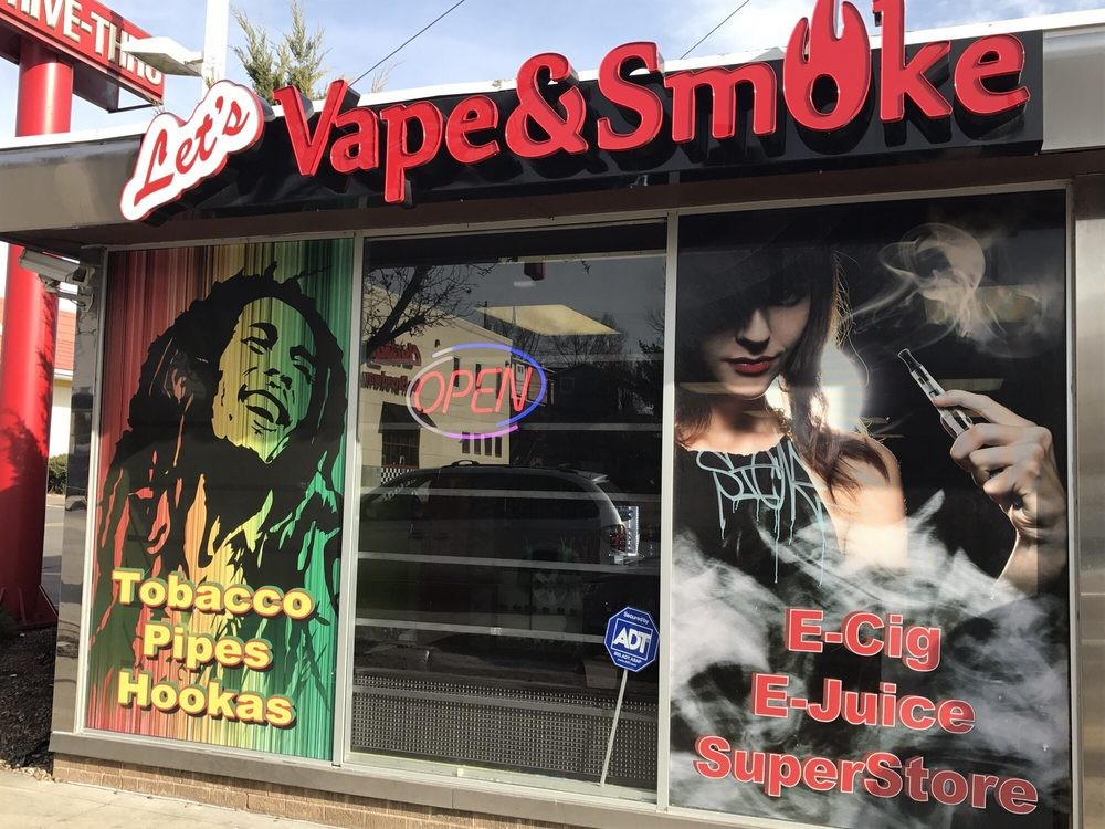 Let's Vape and Smoke, Coffee & Tea Shops in 64111 - Parkbench