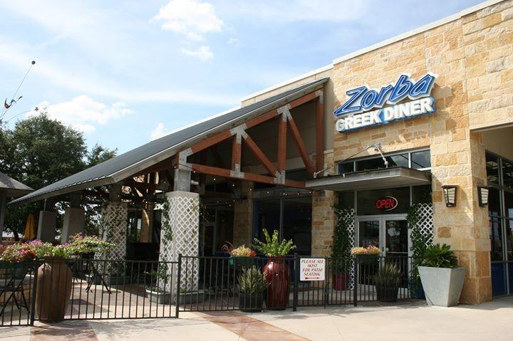 Zorba Greek Diner Southpark Meadows