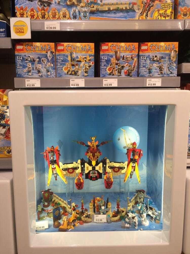 The LEGO Store, Games & Toys in Sherway Gardens - Parkbench
