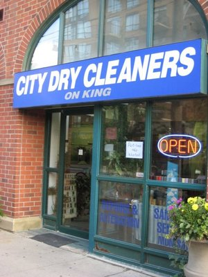 City Dry Cleaners On King