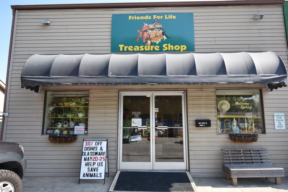 Brother Wolf Animal Rescue Treasure Shop in Brevard, meet