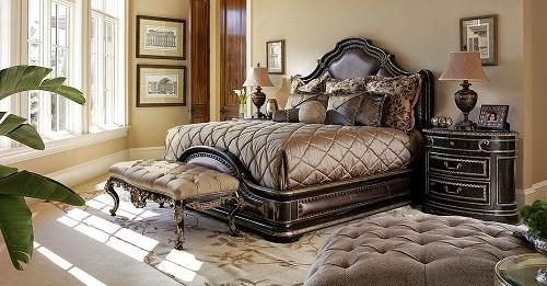 Queen bedroom set + mattress
