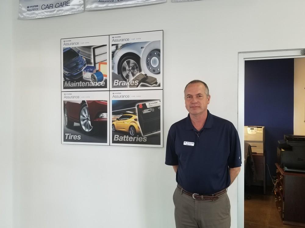 James Wood Hyundai In Decatur Meet The Service Manager Robert Cook