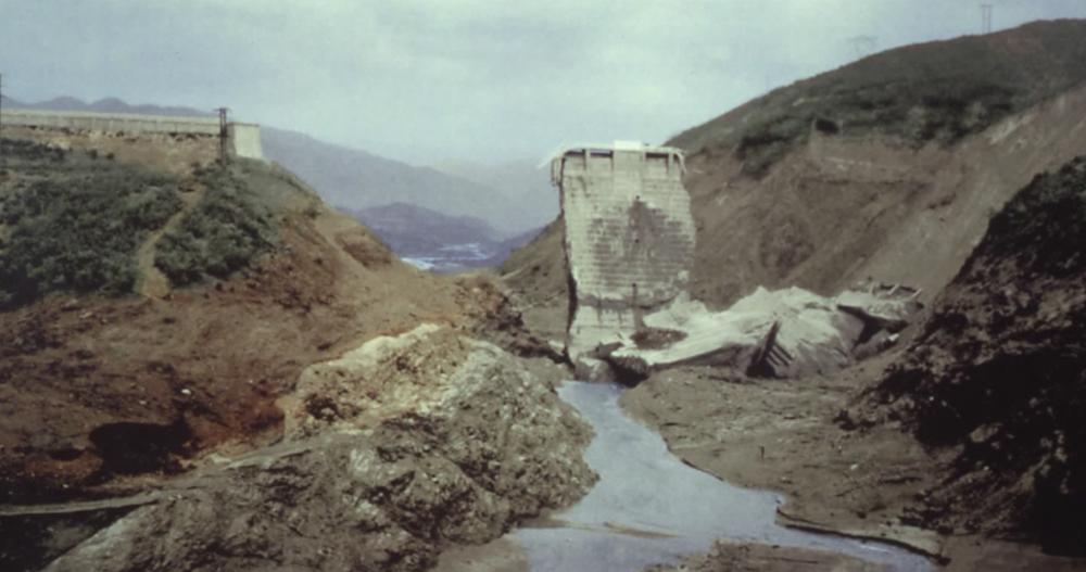 Santa Clarita History - Simi Valley History - Dam Break