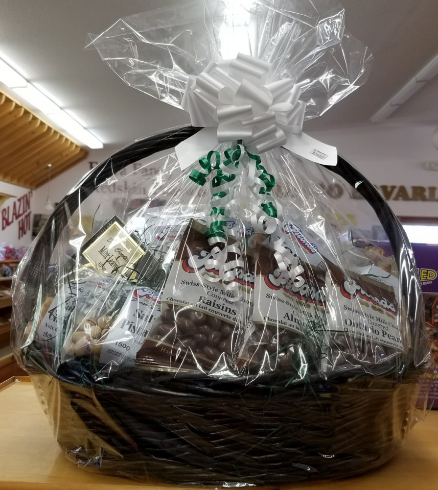 At the end of October, our Christmas gift baskets and gift boxes start to come in. What a great gift idea!!