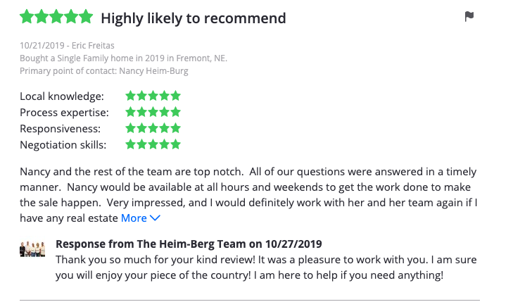Real Estate Professional Heim Berg Team Nancy Drew