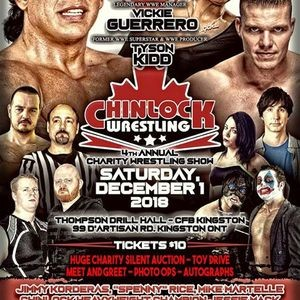 Ginos Pizza Spaghetti Presents Chinlock Wrestling Parkbench