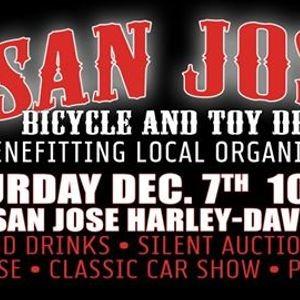 San Jose Harley >> Red White Toy Drive At San Jose H D Parkbench