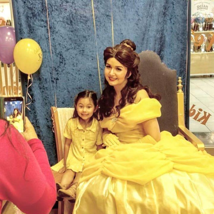royal princess painting party parkbench