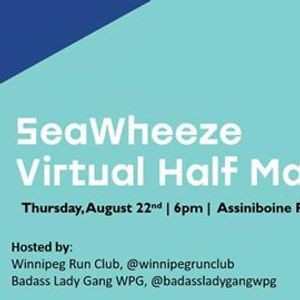 Seawheeze Virtual Half Marathon - Winnipeg Edition - Parkbench