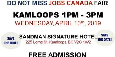 Free Kamloops Job Fair April 10th 2019 Parkbench