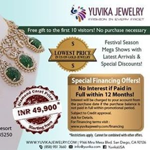 Yuvika Mega Diamond Gold Jewelry