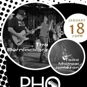 The Burnlackers And Todd Michael Jameson At Pho Cao Scottsdale Parkbench