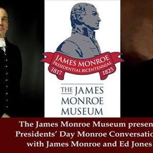 Presidents Day Monroe Conversations Parkbench