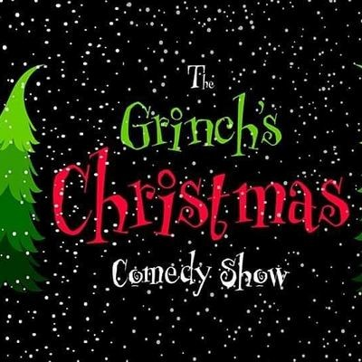 The Grinch's Christmas Comedy Show   Parkbench
