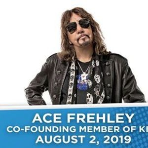 Ace Frehley on the Indiana State Fair Free Stage - Parkbench