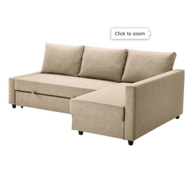 Hi I Got This Ikea Sofa Bed Last Year For Around 900 With Tax Including It Is A Bit Used Am Willing To Negotiate The Price You Can Come And See