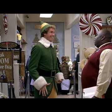 elf the movie santa announcement in lake ridge fort