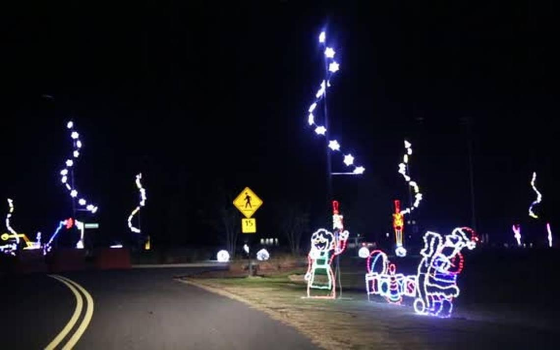North Myrtle Beach Christmas Light Show