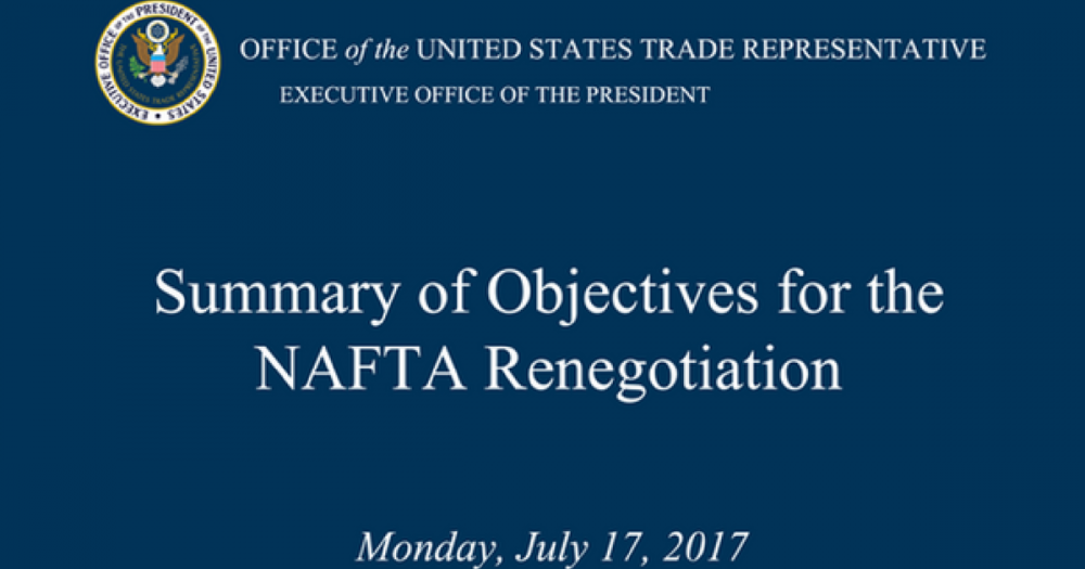 the objectives of the north american free trade agreement nafta Washington, dc – united states trade representative robert lighthizer today released an updated summary of the negotiating objectives for the renegotiation of the north american free trade agreement (nafta.