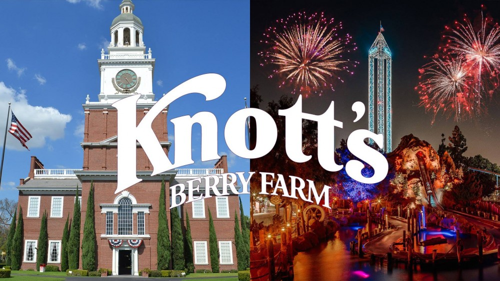 Why you should celebrate the fourth of july at knott 39 s for Why is 4th of july celebrated