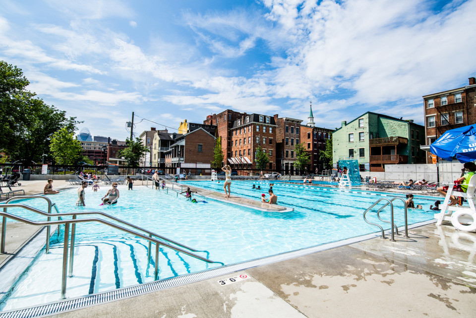 Eight Cincinnati Public Pools And Spraygrounds To Keep You Cool This Summer Parkbench