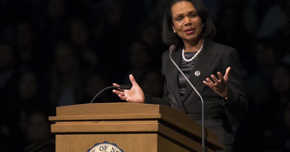 condoleezza rice overcoming obstacles Essay about developing leaders at ups: overcoming obstacles what kind of leader is ms condoleezza rice essay 3525 words.
