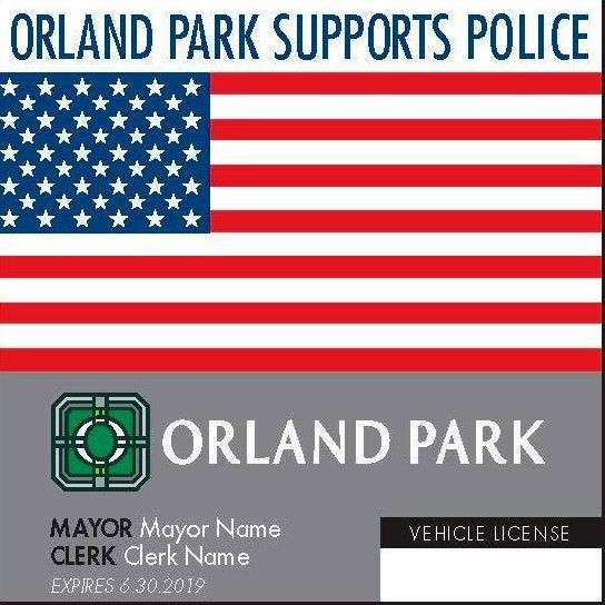 Share For Orlandpark Family And Friends All Vehicles Registered To Orland Park Addresses Must Display Cur Village Stickers