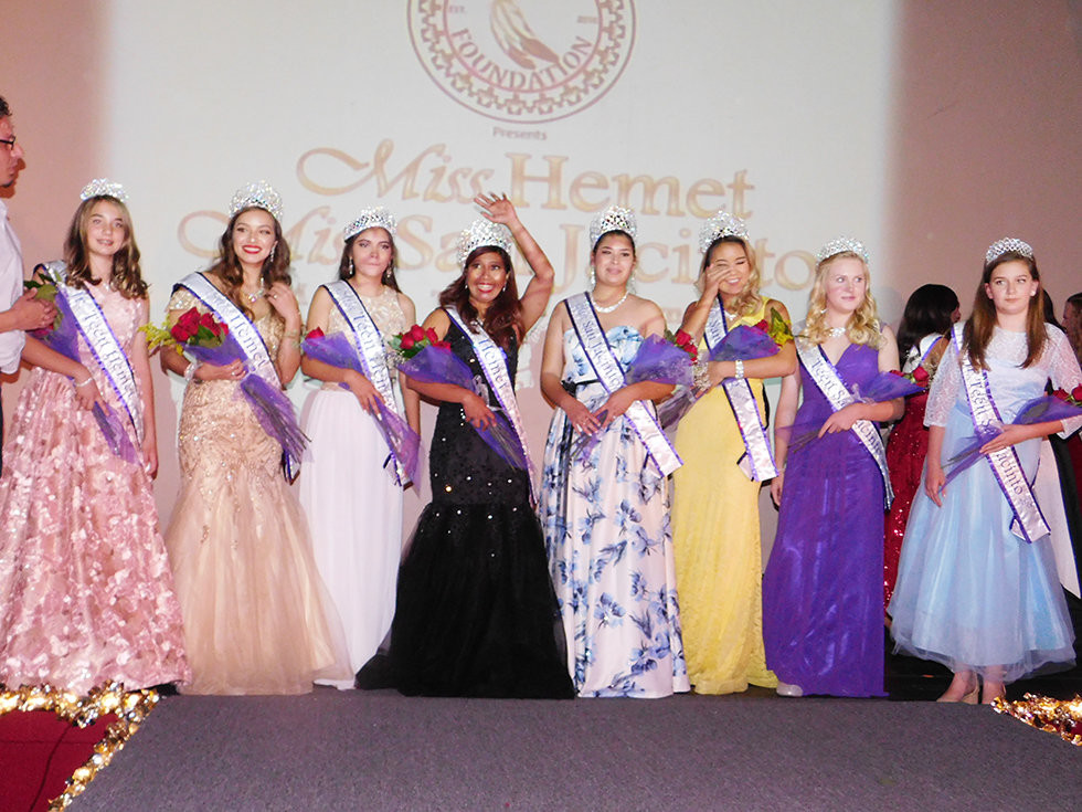 Hemet San Jacinto Miss Teen Scholarship Program names 2019