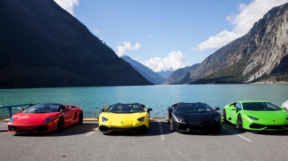 Lamborghini Calgary Parkbench
