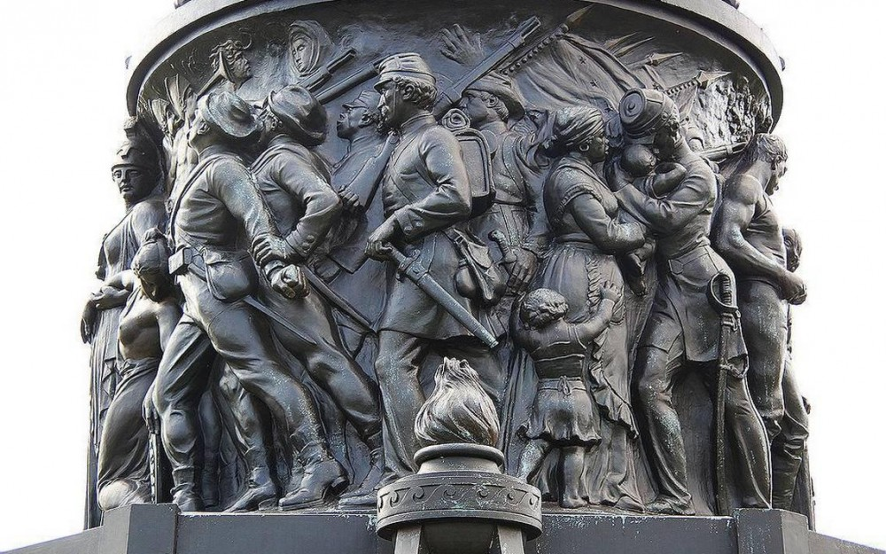 the american struggle with the removal of statues and monuments in the country What's the story behind such monuments and why do we continue to struggle  remove a statue of  the shifting history of confederate monuments.