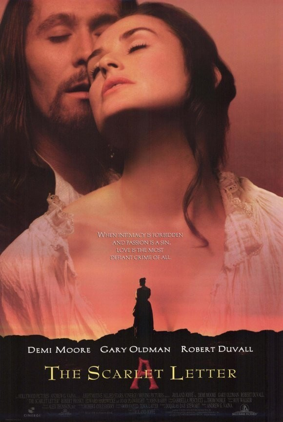 a critique on the movie version of the scarlet letter
