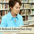 NATIONAL SCHOOL LIBRARIAN DAY – April 4 - Parkbench