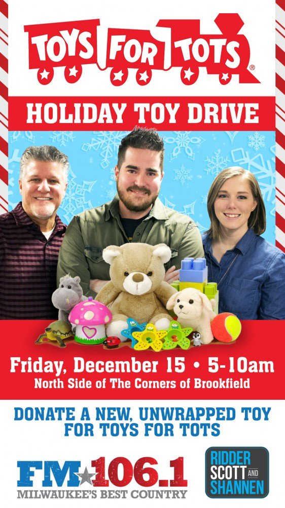 Toys For Tots Drive : Toys for tots holiday toy drive at the corners of