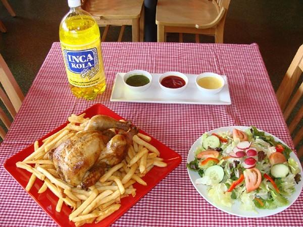 Salvadorian Restaurant San Antonio