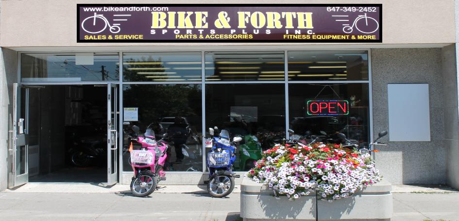 Bike & Forth Sports Plus Inc.