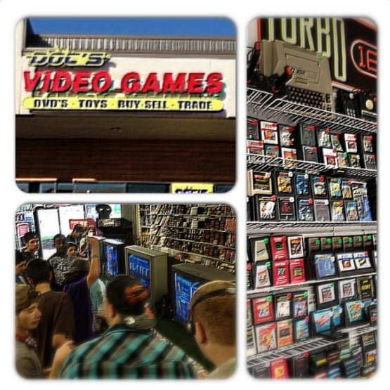 Docs Video Games In Lamar Heights Area Parkbench - Doc's video games