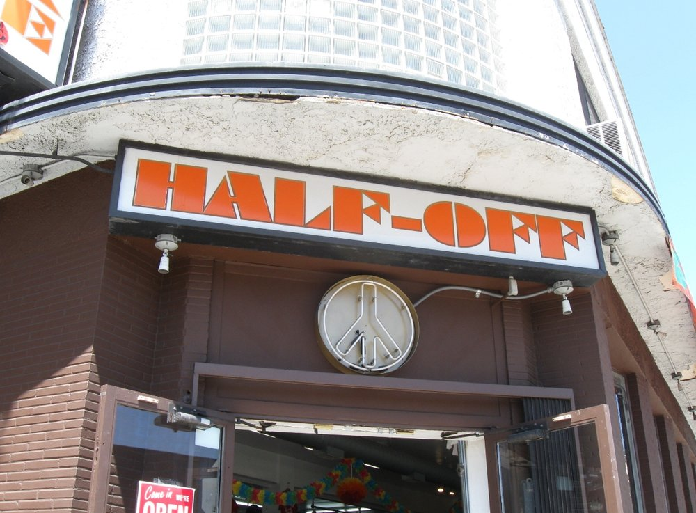 Half-Off Clothing Store