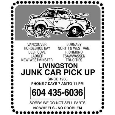 Livingston Junk Car Pickup
