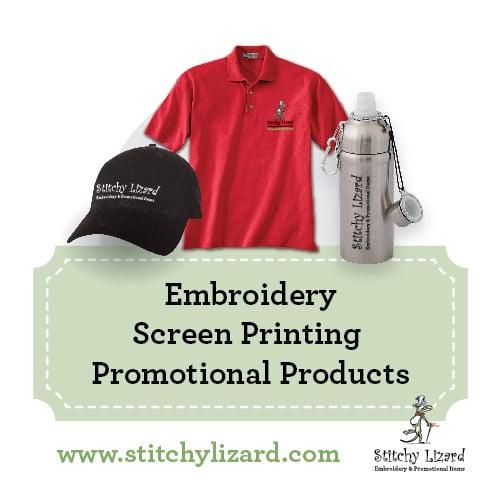 Stitchy Lizard Embroidery & Digitizing