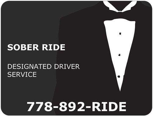 Sober Ride Designated Driver Service
