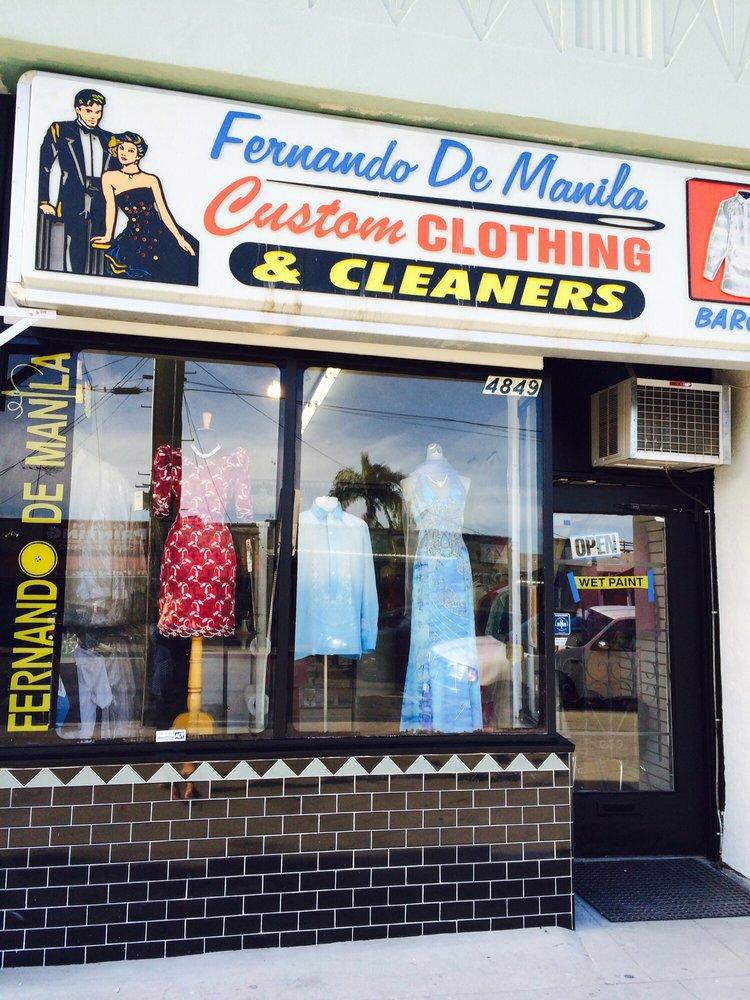 Fernando De Manila Custom Clothing & Tailoring