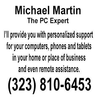 Michael Martin the Pc Expert