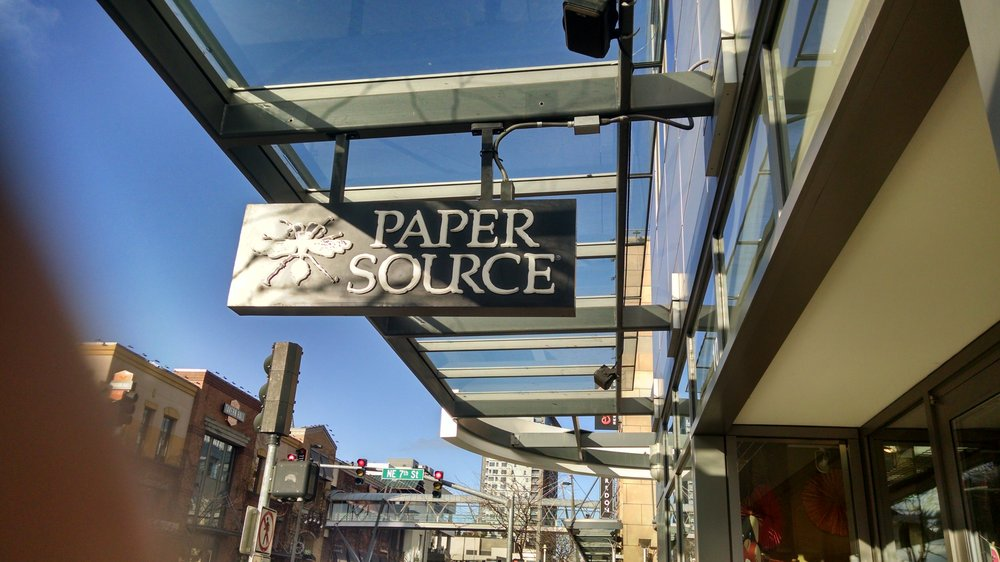 paper source locations