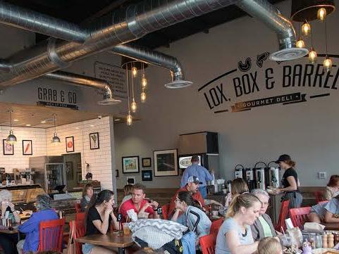 Lox, Box & Barrel in Belterra & West of Weird - One of Austin's Best Deli's