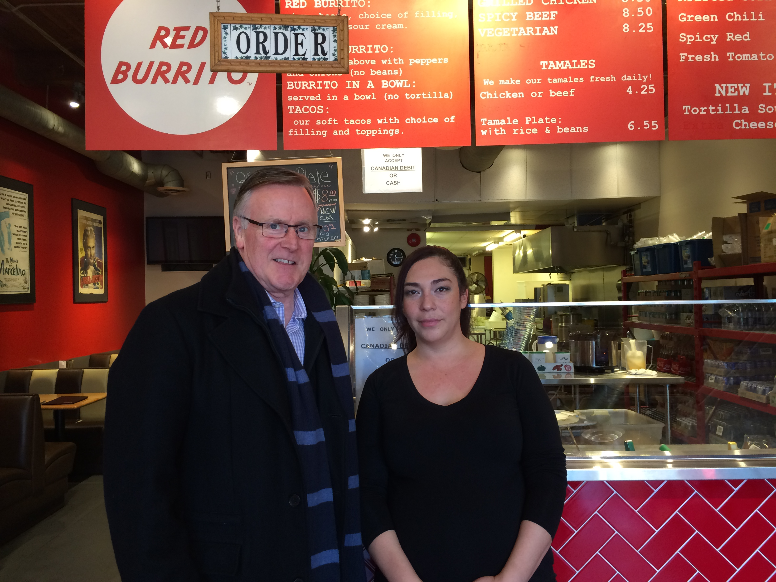 Interview with Marcela Nielsen, Genereal Manager of Red Burrito, one of the best Fast and Fresh Food places in Lonsdale