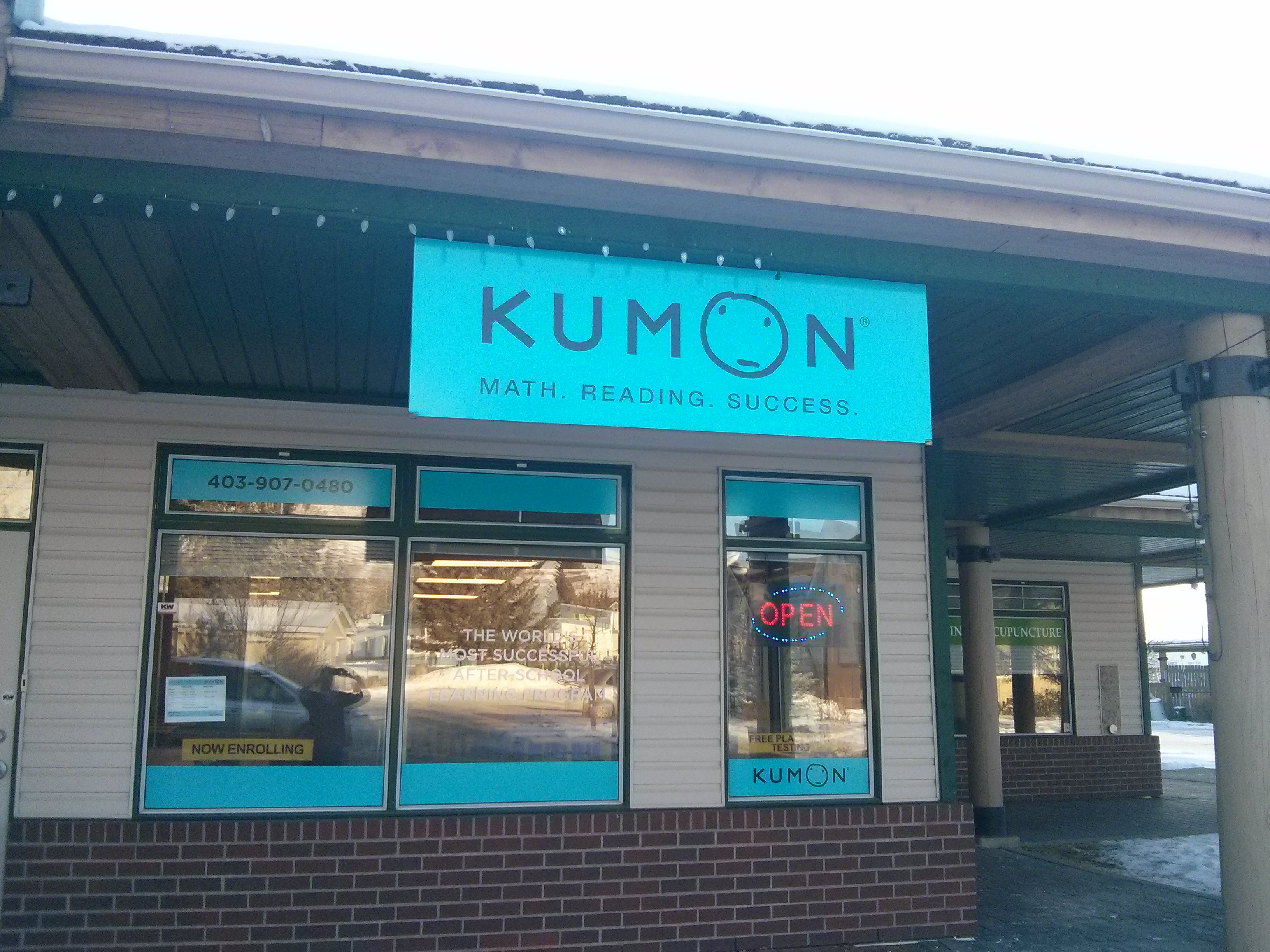 kumon math and reading center of cochrane education training services in cochrane parkbench. Black Bedroom Furniture Sets. Home Design Ideas