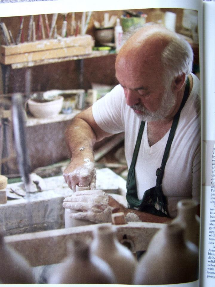 Brown's Pottery in Asheville and Arden, meet the Owner Charlie Brown